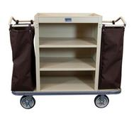 Standard Housekeeping Cart - 3 Shelf and 2 Bags
