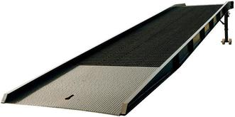 Vestil Portable Steel Yard Ramps with Mechanical Edge-O-Dock