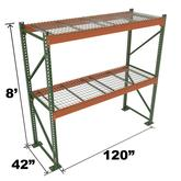 Stromberg Teardrop Storage Rack - 120 in x 42 in x 8 ft