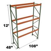 Stromberg Teardrop Storage Rack - Starter Unit without Deck - 108 in x 48 in x 12 ft