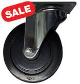 Stromberg 20 Series Hard Rubber Light-Medium Duty Casters 5 Inch