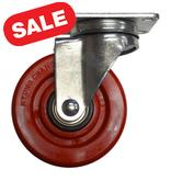 Stromberg 21-40S Polyurethane Casters 4 inch