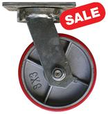 Stromberg CA10 Series 8 inch Casters Swivel