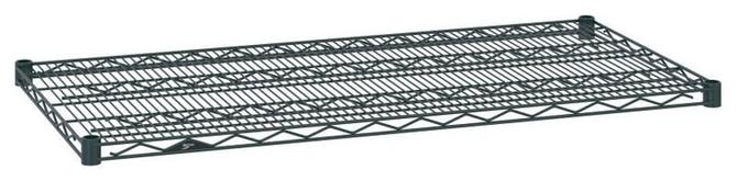Metro Super Erecta Wire Shelves - Smoked Glass Finish