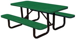 Standard Perforated Picnic Tables