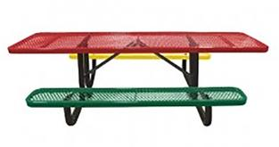Expanded Metal Childrens ADA Picnic Tables