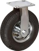 Stromberg STP6600 Medium-Heavy Duty Rigid Plate Casters - 8 Inch