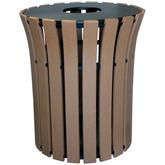 Vestil Trash Receptacles - 33 Gallon Flared Top