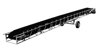 E-ZLIFT TRU-050 Troughing Roller Sludge Conveyor