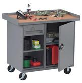 Tennsco Mobile Workbench