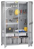 Little Giant Tool Storage Locker with Pegboard Model No. SL1-2448-PB