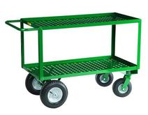 Little Giant Two-Shelf Nursery Cart