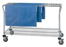 Quantum Low Profile Sterile Wrap Cart NEW
