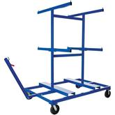 Vestil Crowd Control Barriers Cart
