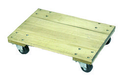 Solid Platform Wood Dolly Wesco