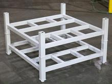 Stromberg White Base Portable Stacking Racks
