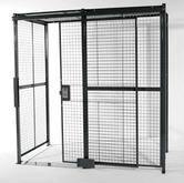 Vestil Wire Cage Model No. WPC-10X10-3NC