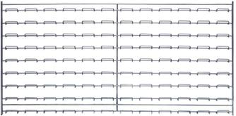 Quantum Wire Louvered Panels Model No. WLP-1836C