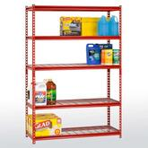 Sandusky Z-Beam Boltless Steel Shelving Model No. UR184872-R