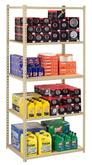 Z-Line Low Profile Shelving with Particle Board Decking