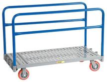 Little Giant Adjustable Sheet and Panel Truck with Perforated Deck Model No. APTP-2448-6PY