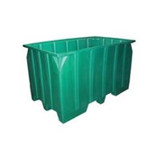 Seamless Plastic Stacking Pallet Containers