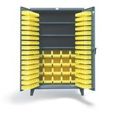 Strong Hold 12 Gauge Heavy Duty Industrial Bin Cabinets and Lockers