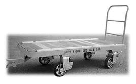 Nutting Caster Steer Trailer with Spring Loaded Casters