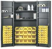 Deep Door Bin & Shelf Cabinets