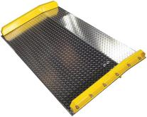 B&P Manufacturing Steel Curb Aluminum Dock Boards
