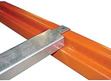 Stromberg Double Flanged Cross Bars , Steel Safety Supports