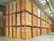 MECO OMAHA Drive-in Drive-Thru Structural Pallet Rack
