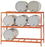 MECO OMAHA 9 Drum Storage Rack DR9