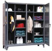 Dual Zone Janitorial Locker Cabinet