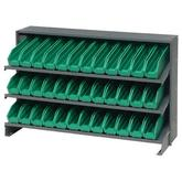 Quantum Economy Shelf Bins Sloped Shelving Units QPRHA-100