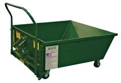 Low Profile Portable Hopper