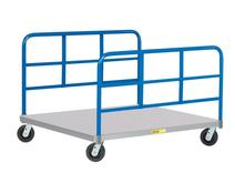 Little Giant Pallet Dolly with Double End Racks, Model PDS-40-6PH-2H
