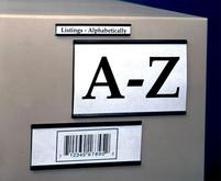 Aigner-Index Magnetic Card Label Holders