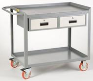Little Giant Mobile Workstation with Storage Drawer Model No. MW-2436-5TL-2DR