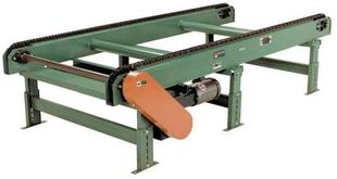 Roach Model CD2802 2-Strand Chain Drag Conveyor