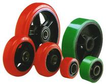 Stromberg Polyurethane Tread Cast Iron Core Wheels
