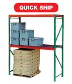 Teardrop Quick Ship Pallet Racking - LOAD BEAMS