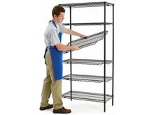 Metro qwikSLOT Shelves - Super Erecta Brite