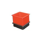Heavy Duty Molded Plastic Stacking Boxes/Nesting Boxes