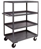 4 Shelf Steel Shelf Carts