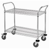Quantum Stainless Steel Wire Utility Carts