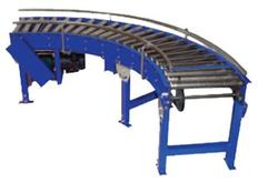 V-Belt Driven Curve Conveyors