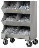 Little Giant Welded Steel Mobile Storage Bin Model No. MS2-1532-6PH