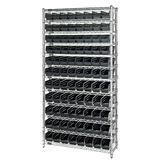 Quantum Conductive Shelf Bin Wire Shelving Systems